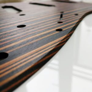 Exotic Wood Pickguards Archives | Guitar Anatomy