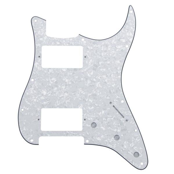 White Pearl HH Humbucker Pickguard by Guitar Anatomy