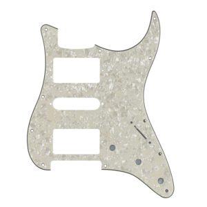 Cream Pearl HSH Humbucker Pickguard by Guitar Anatomy