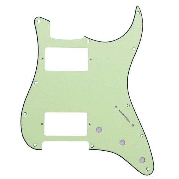 Mint Green HH Humbucker Pickguard by Guitar Anatomy