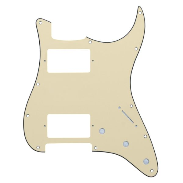 Vintage Cream HH Humbucker Pickguard by Guitar Anatomy