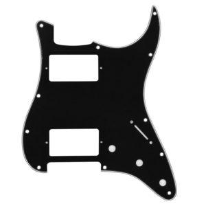 Black HH Humbucker Pickguard by Guitar Anatomy