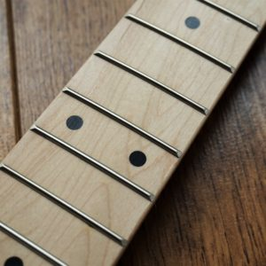 Left Handed Canadian Maple Stat Neck By Guitar Anatomy