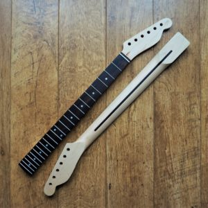 Telecaster Neck with Rosewood Fretboard by Guitar Anatomy