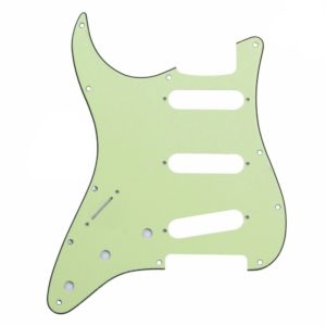 Left handed Stat Pickguard by Guitar Anatomy