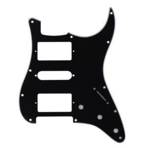 Black HSH Humbucker Pickguard by Guitar Anatomy