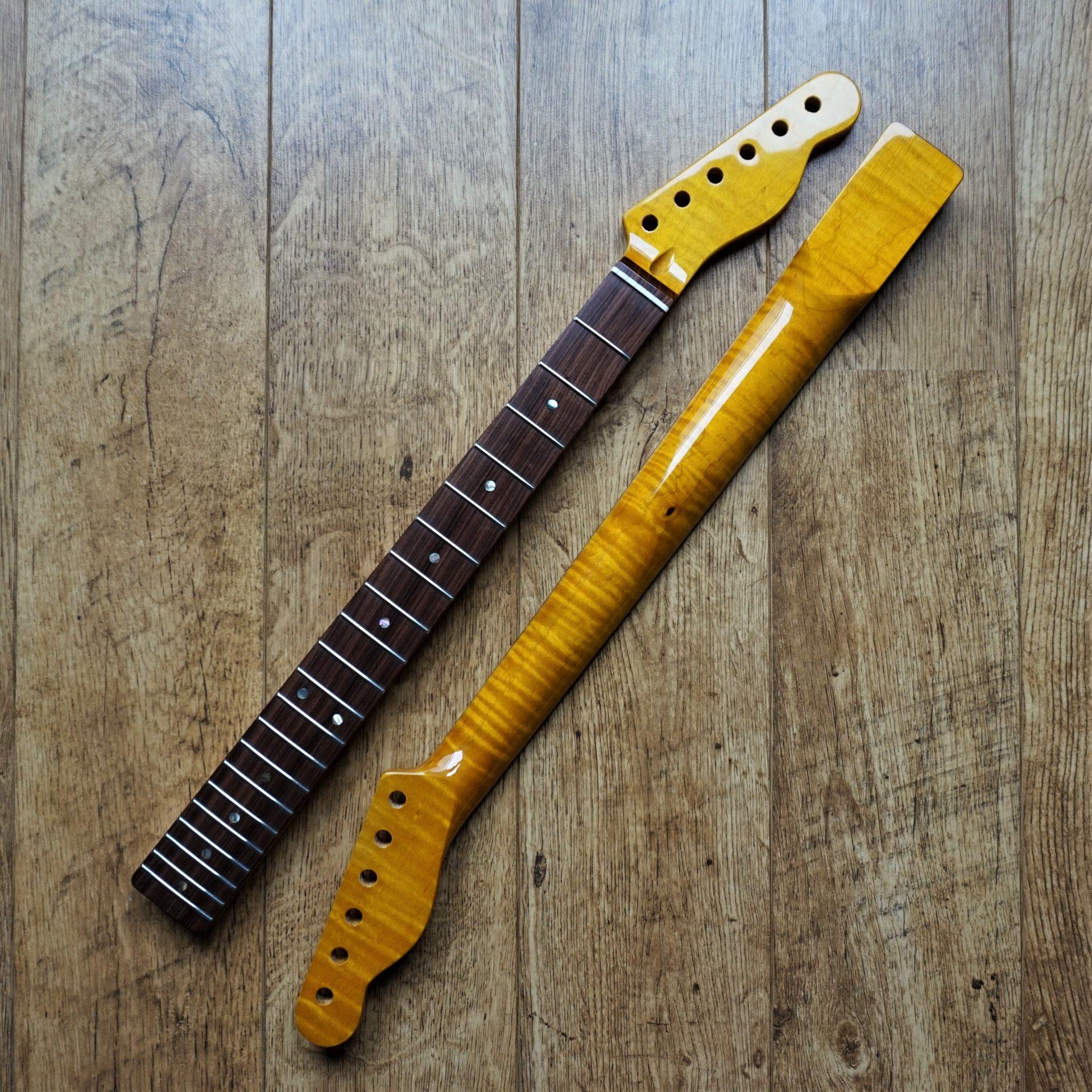 telecaster kabukalli and flame maple guitar neck abalone guitar anatomy. Black Bedroom Furniture Sets. Home Design Ideas