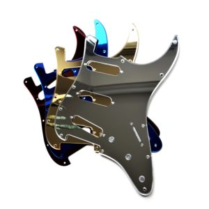 Mirror Pickguard by Guitar Anatomy