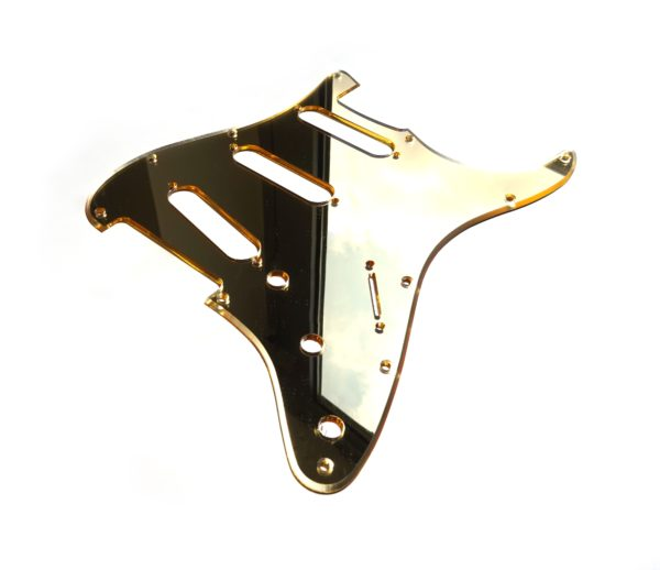 Mirror Pickguard by Guitar Anatomy