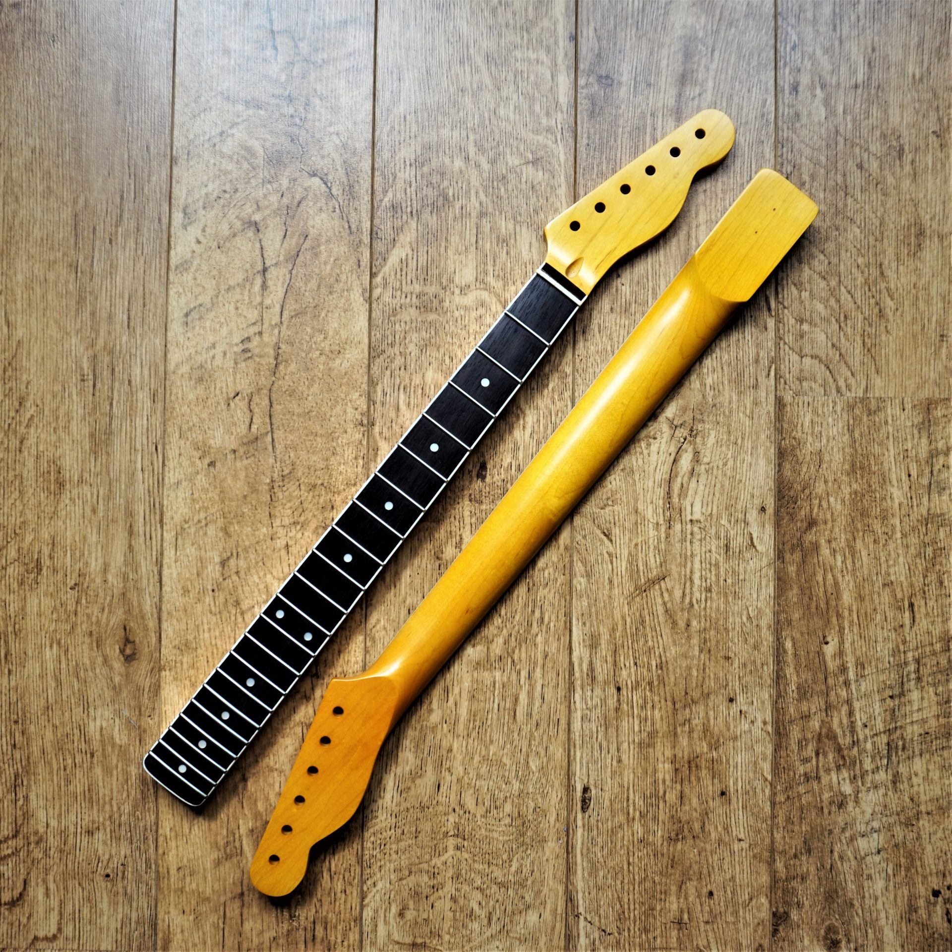 Bound Telecaster Guitar Neck 22 Fret Jumbo | Guitar Anatomy