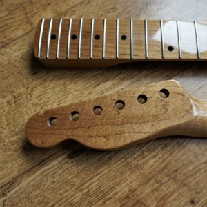 Roasted Maple Tele Neck by Guitar Anatomy