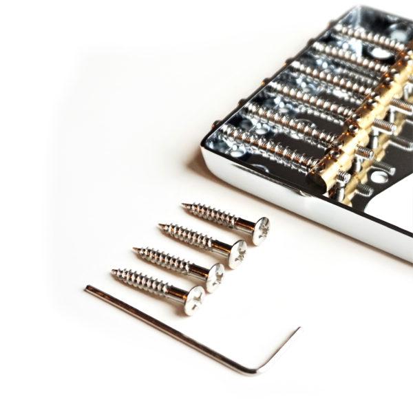 6 saddle Telecaster bridge by Guitar Anatomy