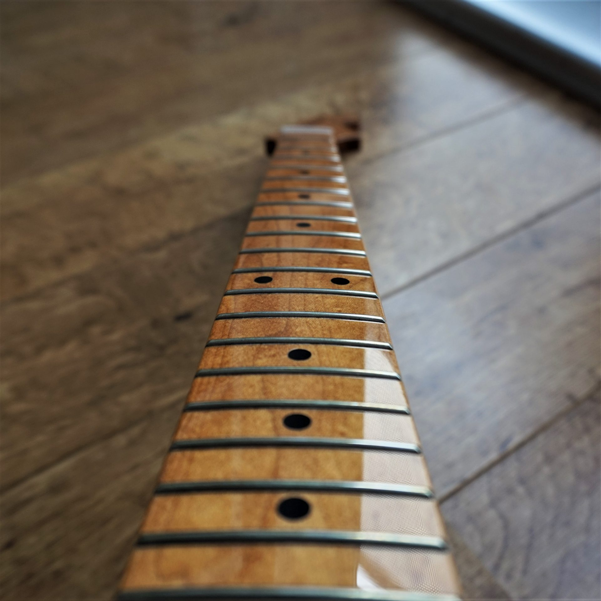 Roasted Maple Stratocaster Guitar Neck Gloss
