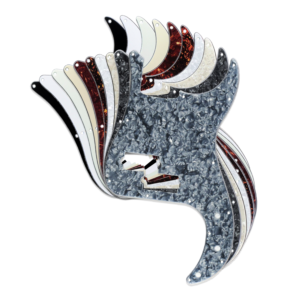 Precision Bass Pickguard by Guitar Anatomy