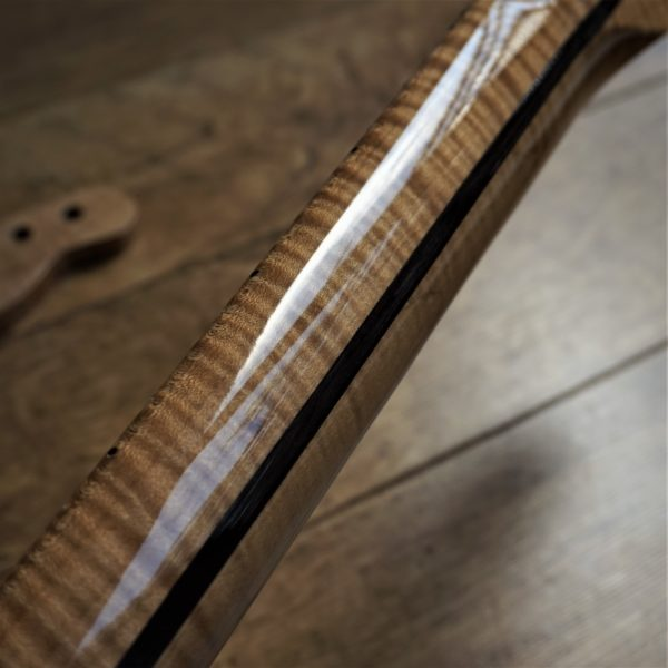 Roasted Flame Maple Guitar Neck by Guitar Anatomy