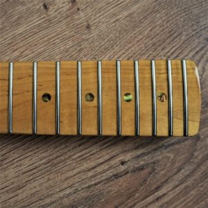 Vintage Flame Maple 22 Fret Neck by Guitar Anatomy