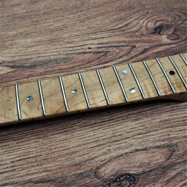 Roasted Flame Maple Strat Neck by Guitar Anatomy