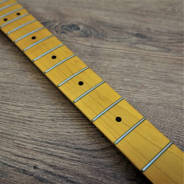 Left handed Strat Neck by Guitar Anatomy