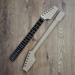 Roasted Maple Rosewood Strat Neck by Guitar Anatomy