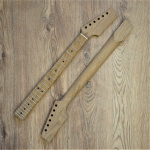 Baked Maple Paddle Neck Stratocaster - Guitar Anatomy