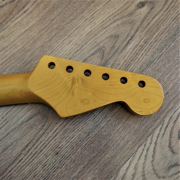 Left Handed Rosewood Stratocaster Neck by Guitar Anatomy