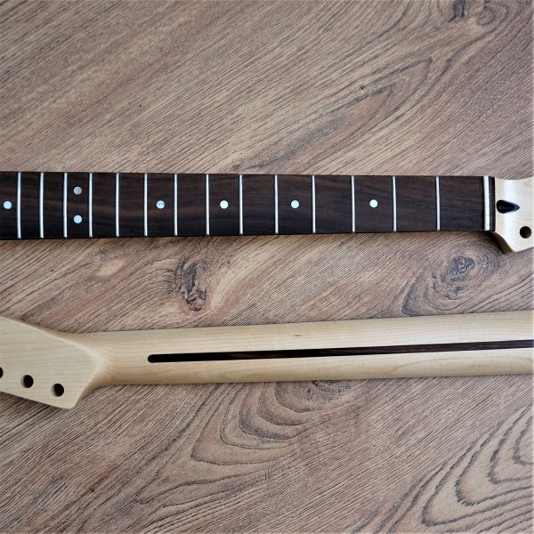 Left Handed Rosewood Telecaster Neck by Guitar Anatomy