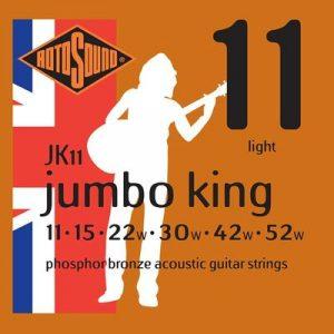 Rotosound Phosphor Bronze acoustic strings - Guitar Anatomy