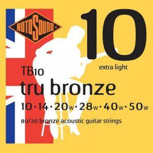 Rotosound Tru Bronze acoustic strings - Guitar Anatomy