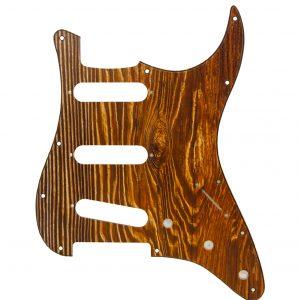 Wood Effect Pickguard by Guitar Anatomy