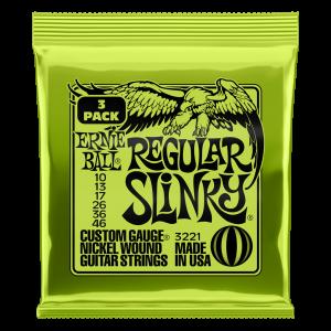 Ernie Ball Regular Slinky - 3 Pack