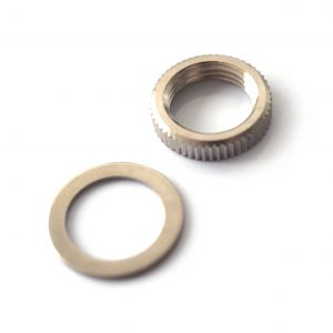 Nut and Washer set to fit Epiphone and Gibson Toggle switches by Guitar Anatomy